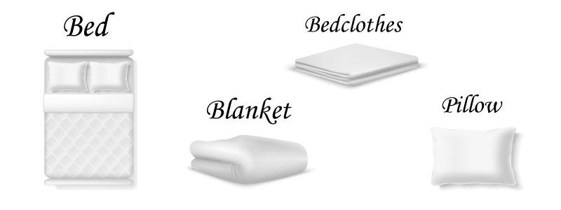 Английские слова на тему спальня с примерами и переводом
