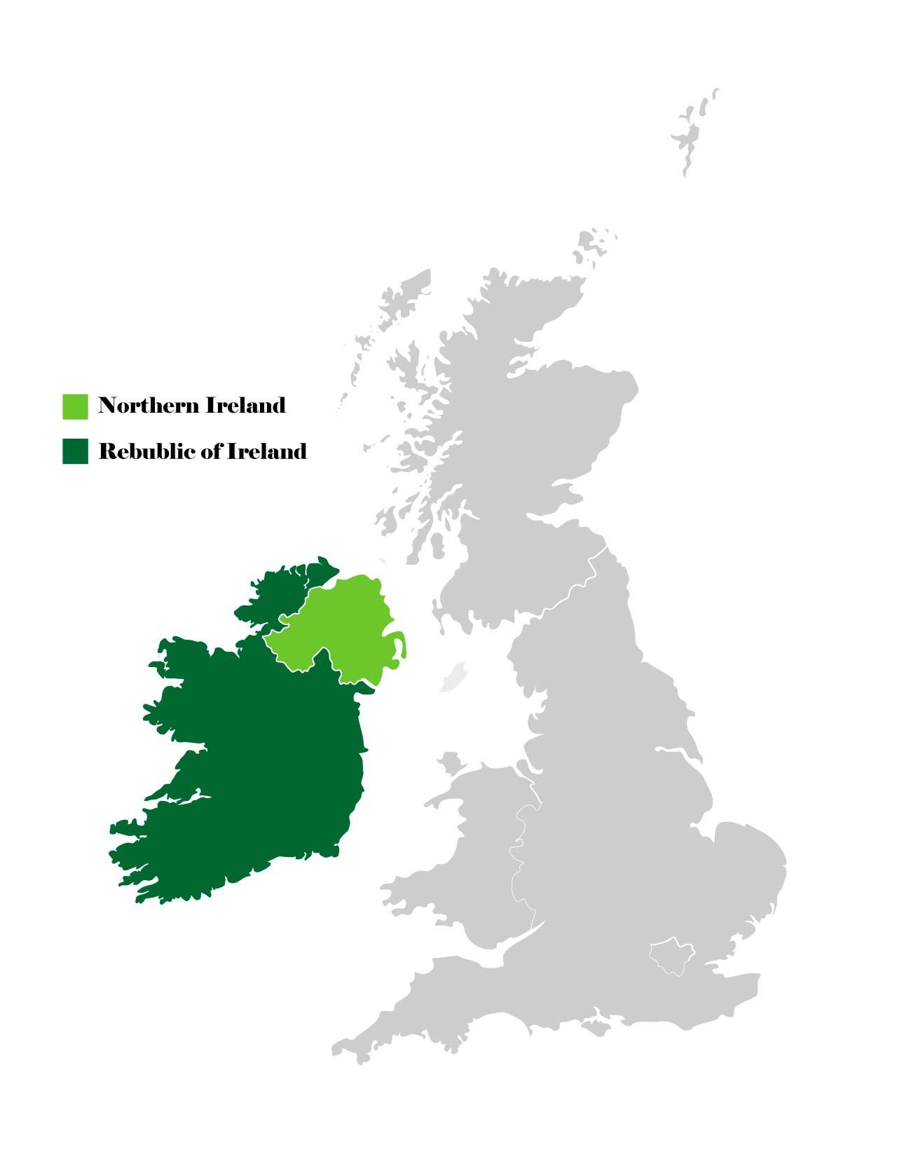 Ирландия и Соединенное королевство