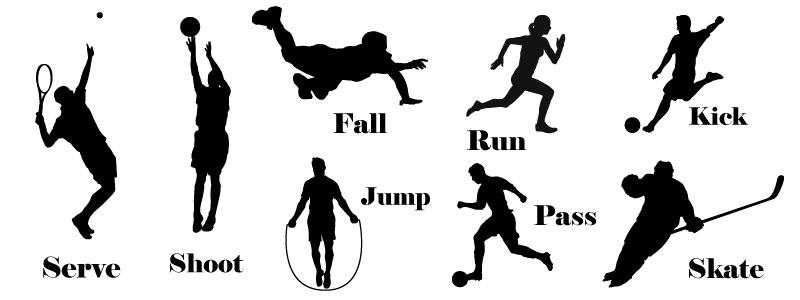 Глаголы на тему спорт