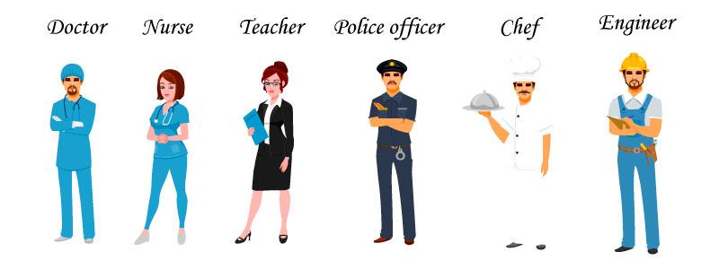 Слова на тему профессии на английском