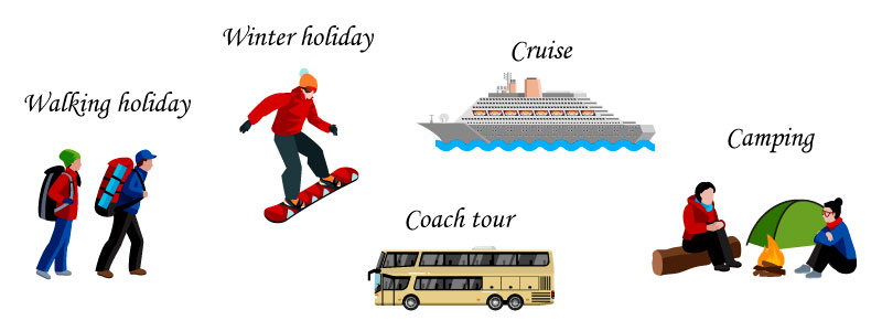 Виды отпуска на английском
