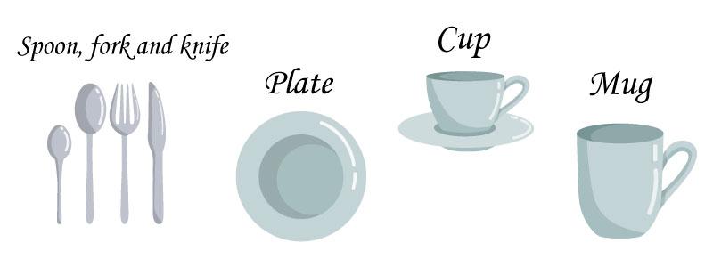 слова на тему кухня по английски
