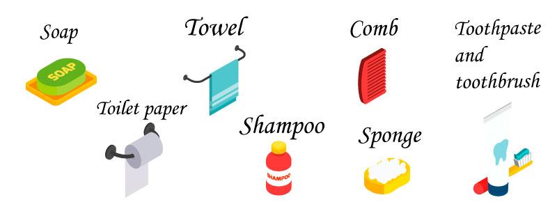 ванная на английском