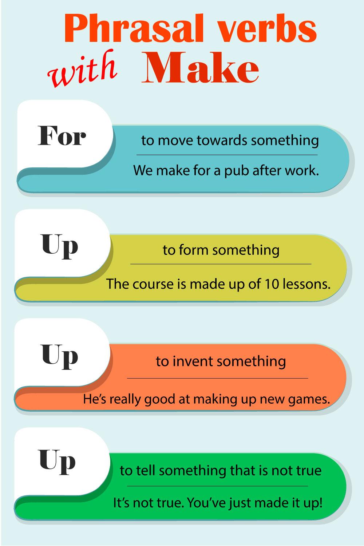 фразовые глаголы с make