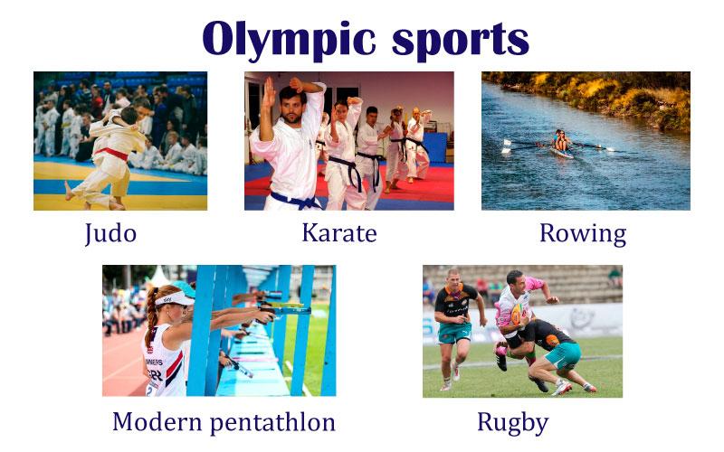 Спорт по английски