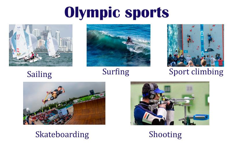 Английский язык спорт