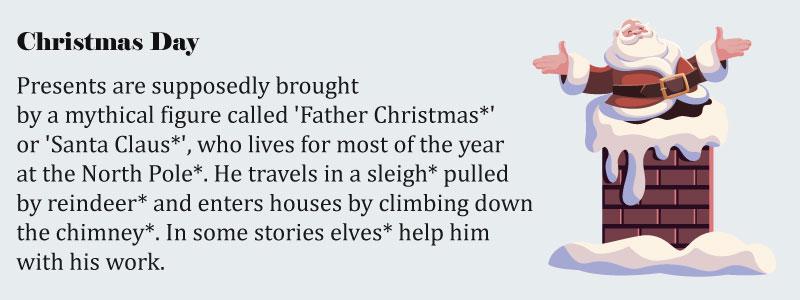 рождество на английском