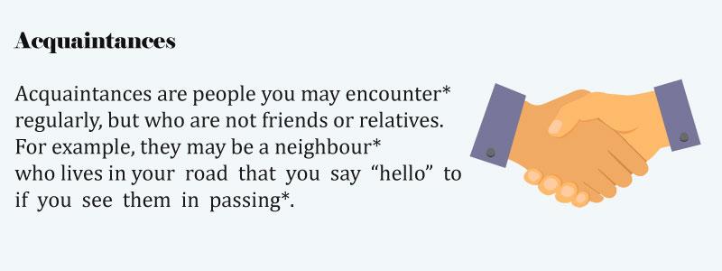 отношения по английски